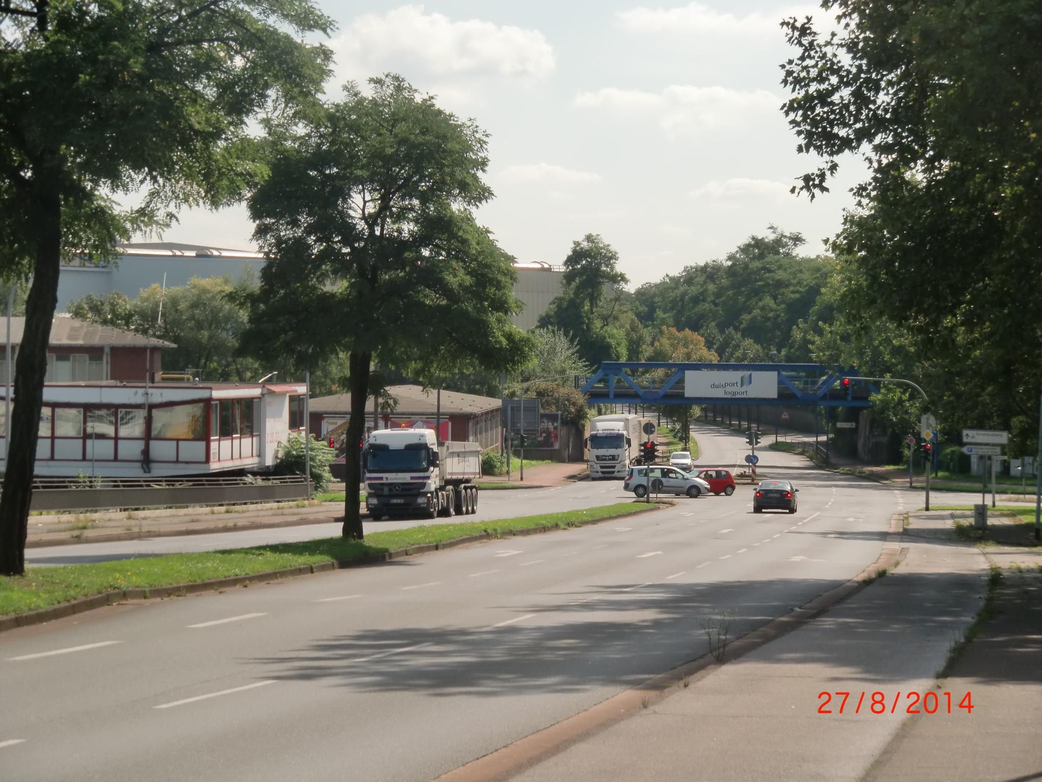 Blick von der Gatewegbrücke Richtung Logport (3)